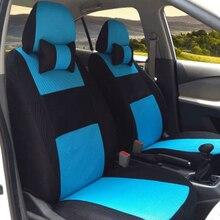 (Front & back) cubierta de asiento de coche Universal de Alta calidad Para Kia cerato Spectra Ceed Rio Sportage coche-estilo sándwich Envío Libre