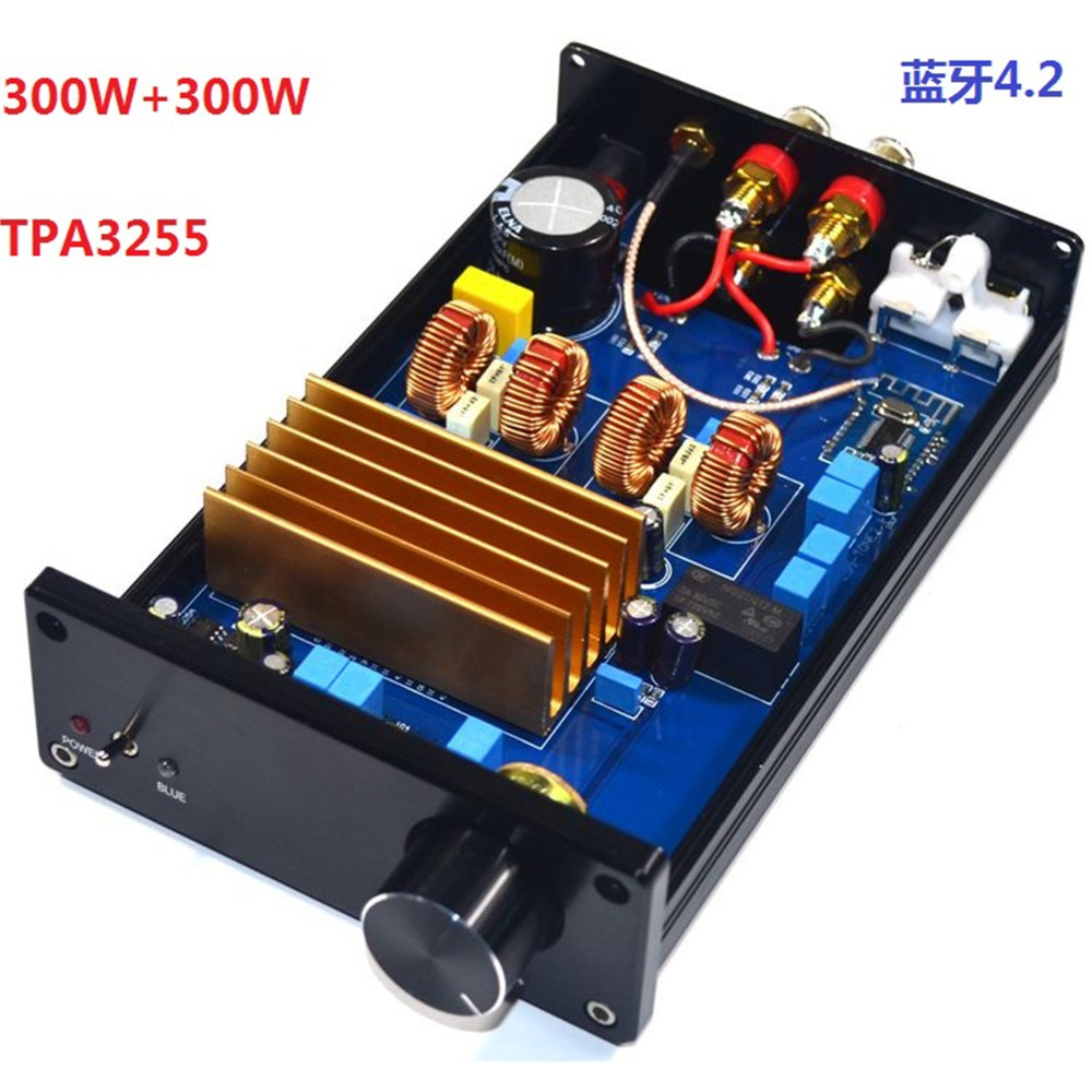 TPA3255 1000 UF/50 V DC30V-48V haute puissance stéréo numérique classe D 4.2 Bluetooth DAC carte amplificateur de décodage