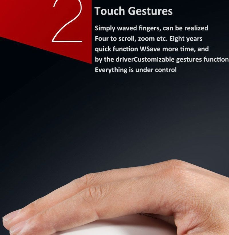 Rapoo touch mouse (4)