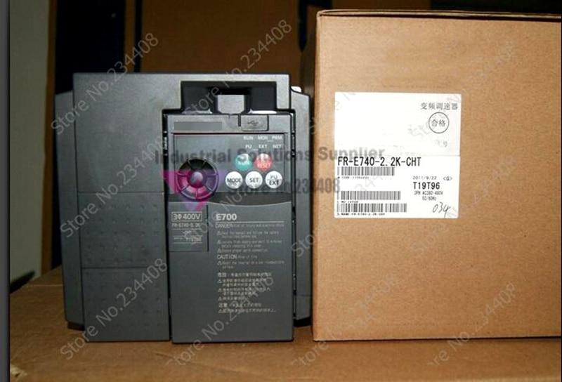 Input 3 ph 380V Output 3 ph FR-E740-3.7K-CHT 380~480V 8.7A 3.7KW 0.2~400Hz Inverter New new original inverter 30400v fr e720s 2 2 k cht