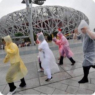 2074 men's women's carry thin disposable raincoat poncho
