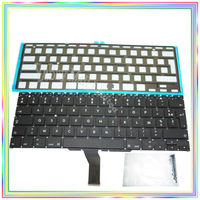 Brand new AZERTY FR French France Keyboard with Backlight & keyboard screws for Macbook Air 11.6 A1370 A1465 2011 2015 Years