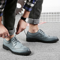Wholesale Classic Autumn England Designer Leaher Casual Shoes Men Brand Fashion Flats Business Office Male Shoes SMYLMX-E0052