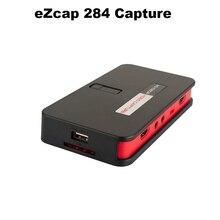 EZcap284 Karty Przechwytywania Gier Wideo HDMI 1080 P HD Rejestrator HDMI/AV/Ypbpr TV Video Recorder Z Pilotem Wsparcie sterowania Mic Dysku USB