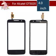 10pcs/lot For Alcatel One Touch M'Pop OT5020 5020 5020D OT-5020 Touch Screen Digitizer Sensor Outer Glass Lens Panel Replacement стоимость