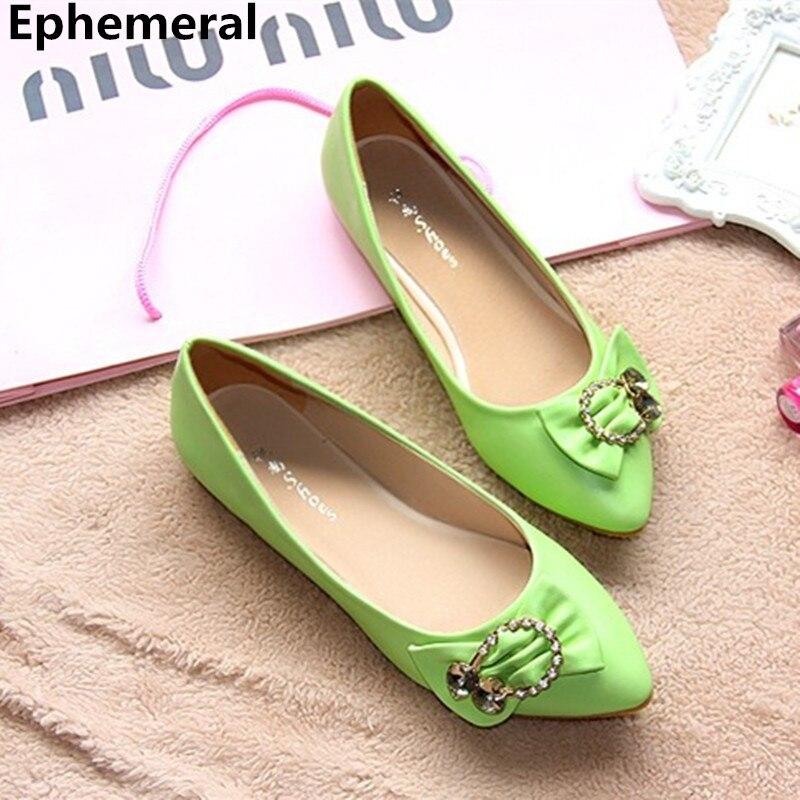 Mujeres Stilettos Diamante pink Zapatos Original Boda Beige Diseñador Más Señoras blue 15 Kvoll rose green Red Solteras Punta Estrecha Planos Ocasionales Baratos 4 Tamaño 56qT8w