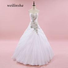 weilinsha Organza Romantic Wedding Dresses Ball Gown