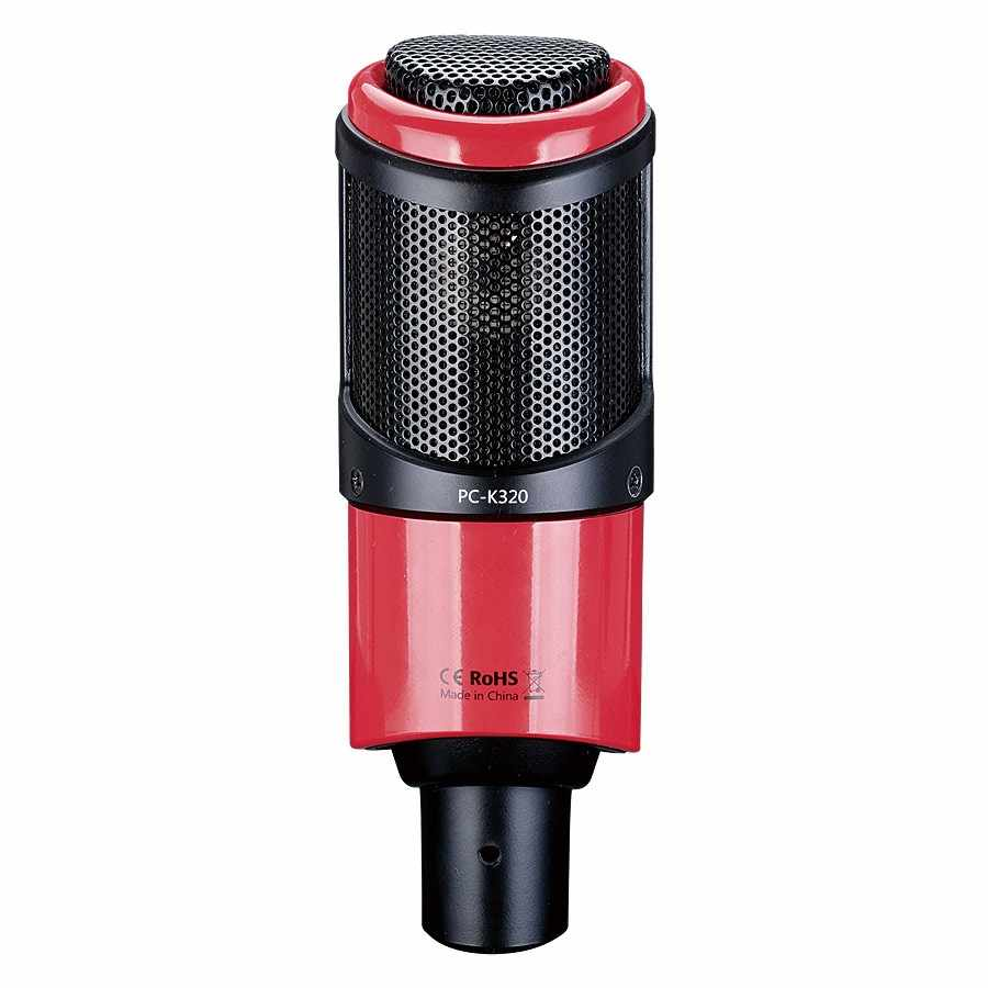 Original Takstar PC-K320 side-address microphone condenser professional mic for broadcasting vocal and instrument recording