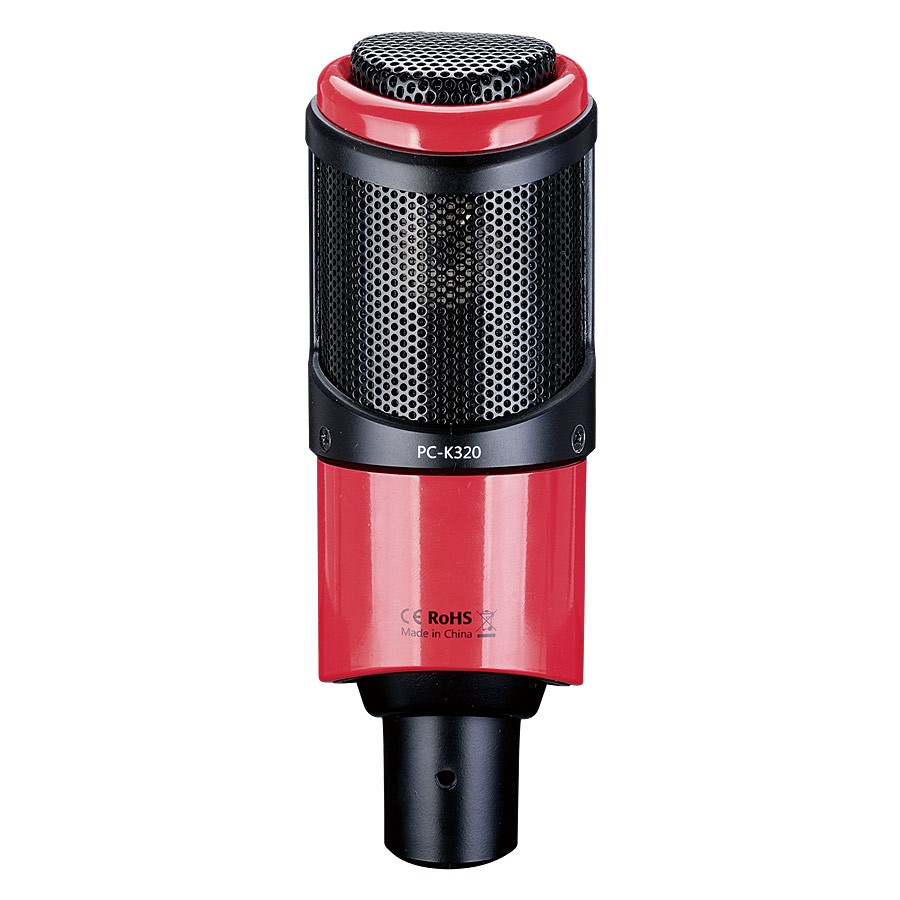 Original Takstar PC K320 side address microphone condenser professional mic for broadcasting vocal and instrument recording-in Microphones from Consumer Electronics    1