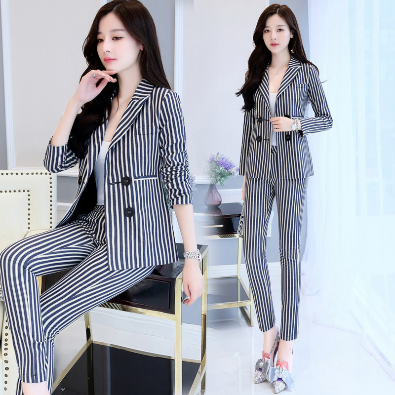 b48671f91d0f 2017 Hot Selling Fashion Women Slim Fit Pant Suits 2 Pieces Sets ...