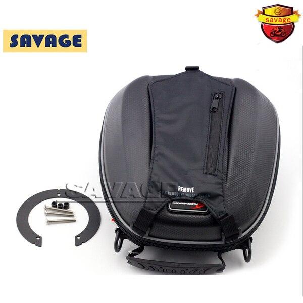 Per ducati monster 696 796 1100/s/evo motocicletta del motociclo di modo oil fuel tank bag impermeabile pacchetto di corsa