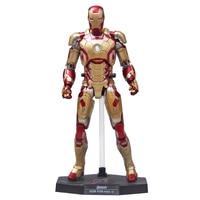 Dowin Red Or Black Super Hero HC Iron Man MK42 MK43 Mark XLII With LED Light