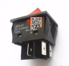 8 Uds. De botones de interruptor basculante JD03 JD03 A1 25A 250VAC
