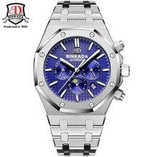 Top Automatische Uhren Für Männer Marke Berühmte Mechanische Uhr Männer Stahl Saphirglas Analog Armbanduhr Wasserdicht Voller Stahl