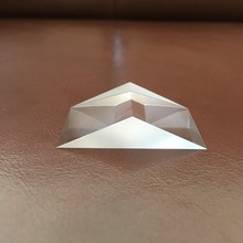 23.09*23.09*40mm height 11.55mm Fused Silica Equilateral triangular prism Optical Glass for Precision Optical Instruments 1pc 100mm optical glass four sides prism for optical experiment optics instruments rainbow principle research