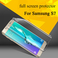 Nano Anti Shock Shield Ultrastrong Soft Explosion Proof Membrane Tempered Glass Screen Protector for Samsung Galaxy S7 / S7 Edge