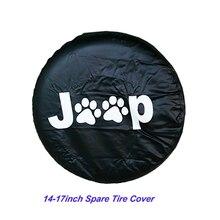 14 17 אינץ צמיג כיסוי PVC חילוף צמיג כיסוי Fit עבור ג יפ רנגלר JK ספורט סהרה הרוביקון X ללא הגבלה 2/4 DR אבזרים