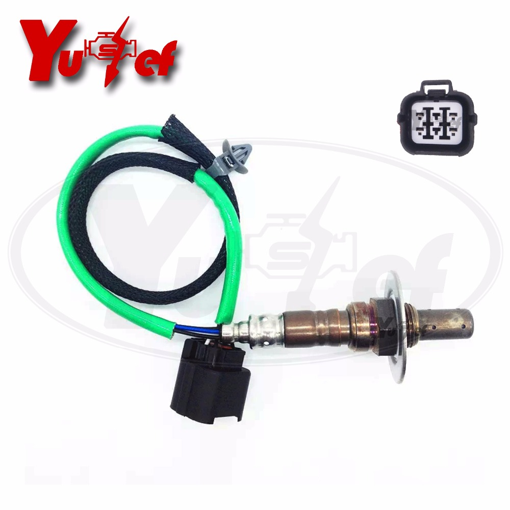 O2 Oxygen Sensor Fit For SUBARU FORESTER IMPREZA LEGACY <font><b>22641AA480</b></font> 22641-AA480 DOX-0361 4 Wires Upstream Front Lambda image