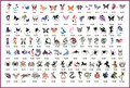100Pcs Fashion Butterfly/Spider/Horse Tattoo Stickers For Temporary Body Painting Self-adhesive Airbrush Tattoo Stencil Book