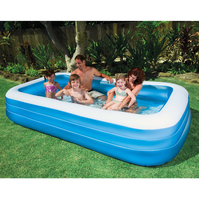 2016 Large Size Inflatable Children Family Bathtub Tub Sunscreen ...