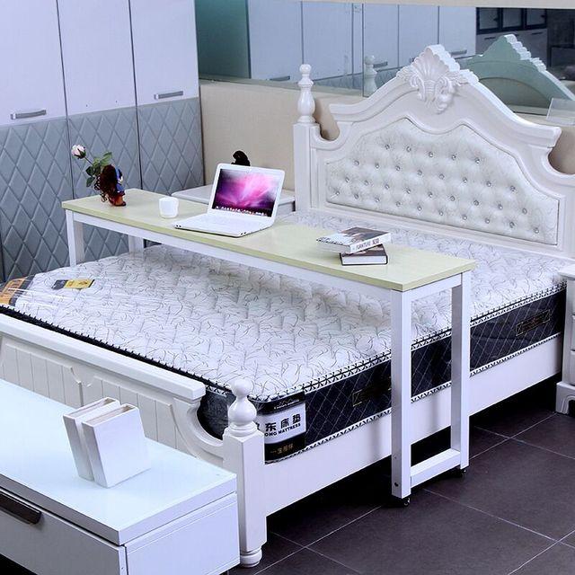 Multifunción cama doble con un escritorio de la computadora portátil ...