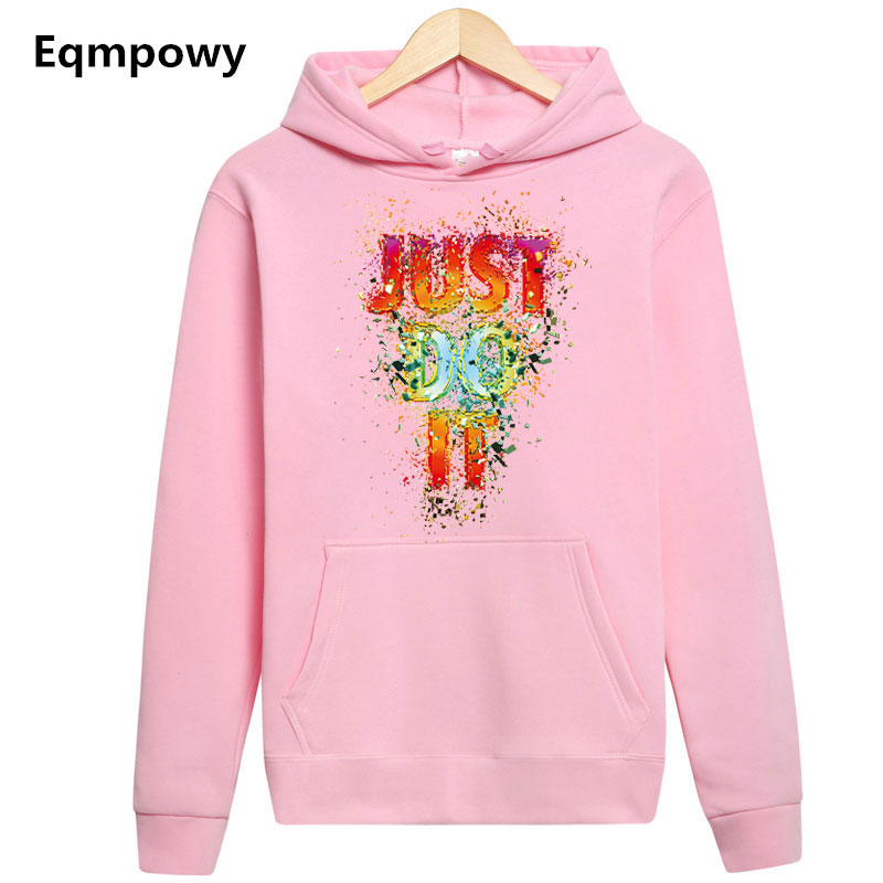 2018 fashion long sleeve just do it hoodies Hip Hop Streetwear hoody sweatshirt hombre men women hoodie sweat homme sweatshirts