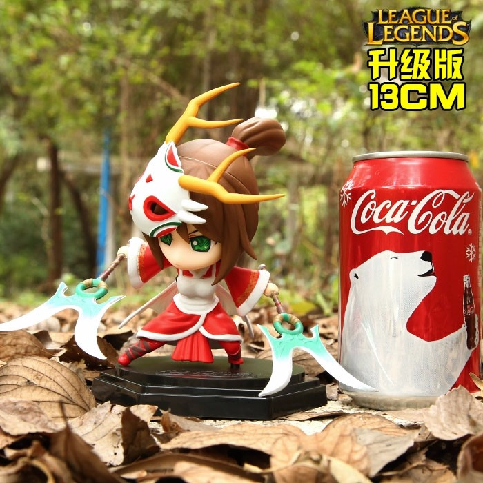 Akali Dolls Toys PVC High Quality Come With Color Box