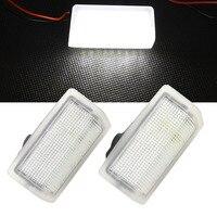 2pcs 18SMD LED Courtesy Door Light For Benz W176 12 W246 11 W204 11 14 W212
