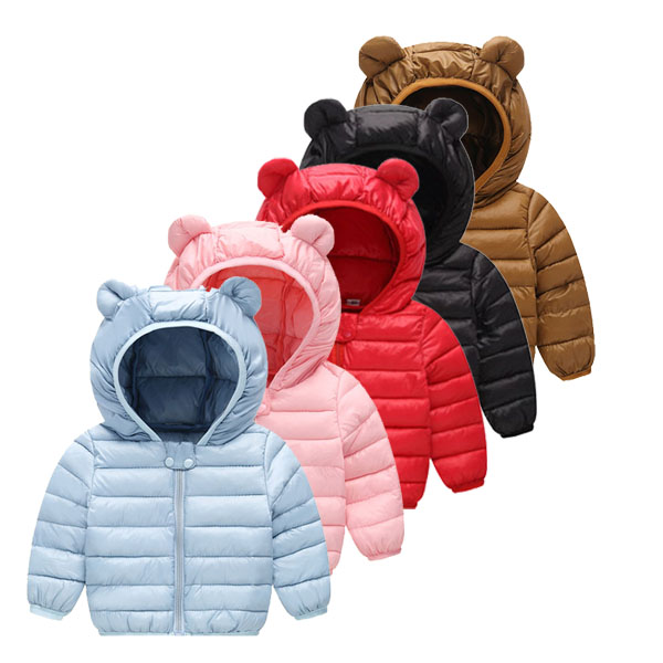 Children's down jacket boys and girls thin down coats