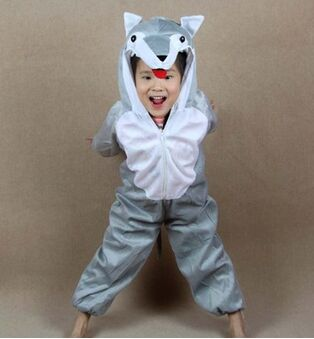 wolf costume kids anime wolf costume halloween wolf costume animal party costume for childrenchina - Wolf Costume Halloween