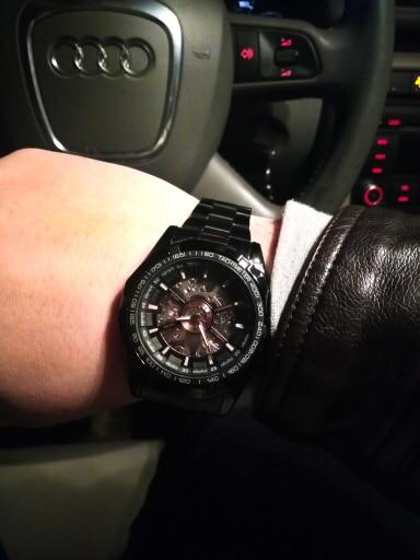 HTB1JOmQOmzqK1RjSZPcq6zTepXaK Forsining 2019 Stainless Steel Waterproof Mens Skeleton Watches Top Brand Luxury Transparent Mechanical Sport Male Wrist Watches