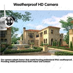 Image 2 - 8CH Wireless NVR Kit Stecker und Spielen 720 P HD Outdoor IR P2P Nachtsicht IP Video Security CCTV Kamera WIFI Überwachung System