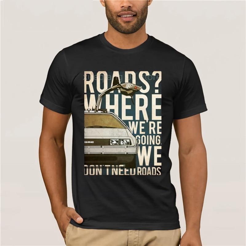 Back To The Future T Shirt T-Shirt Funny Short Sleeve Tee Male Graphic XXX Fashion Cotton Tshirt