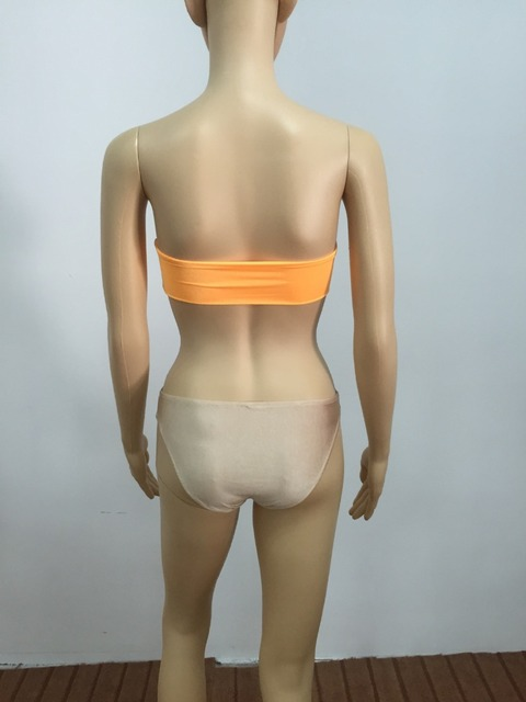 Women Sexy Diamond Rhinestone Solid Bikinis Set Women Swimwear Swimsuit Bathing Beachwear 2017 6