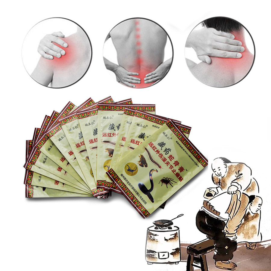 12pc/lot Herbal Pain Relief  Osteoarthritis Patch Orthopedic Plaster For Joints Neck Muscle Massage Medical Ointment Health Care cofoe pain relief orthopedic plaster chinese medical patch paste for shoulder hand waist knee joint foot health care 8pcs set