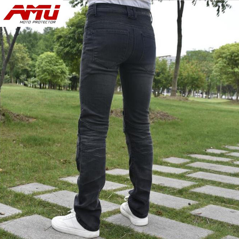 Authentic AMU Motorcycle riding jeans fell off the cross-country locomotive racing pants R2 сосо amu 500