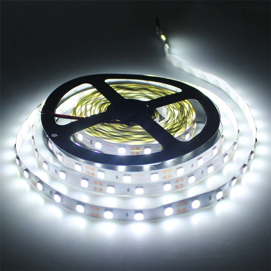 Светодиодные ленты 5050 SMD DC12V Светодиодные ленты гибкий свет 60leds/M 5 м rgb led лента Газа Освещение холодный белый /теплый белый/r/g/b