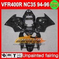 El cuerpo Pintado Completo Kit de Carenado Para HONDA VFR400R 94-96 VFR 400R RVF400R 400 VFR400 R 94 95 96 1994 1995 1996 carenado