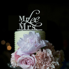 Acrylic Mr & Mrs Cake Toppers For Weddings,Custom Cake Toppers,Personalised Cake Toppers,Casamento Funny Cake Toppers