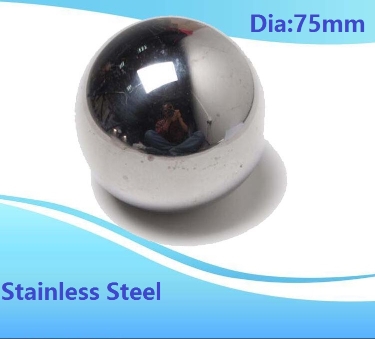 1pcs Diameter 75mm stainless steel ball SUS304 precision Dia 75 mm for bearing ball steel ball 2pcs diameter 50mm stainless steel balls sus304 precision dia 50 mm for bearing ball steel ball