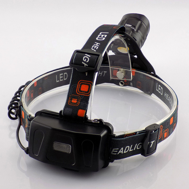 Led Headlamp Cree XM L2 Led Head Flashlight With USB Port