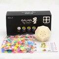 Más nuevas de DIY Qiyi X-man Galaxy Megaminx Cubo Conjunto Con culpture/Convexo/Cóncavo/Avión Cubo DiyKit Velocidad Cubo mágico Giro puzzle Toy