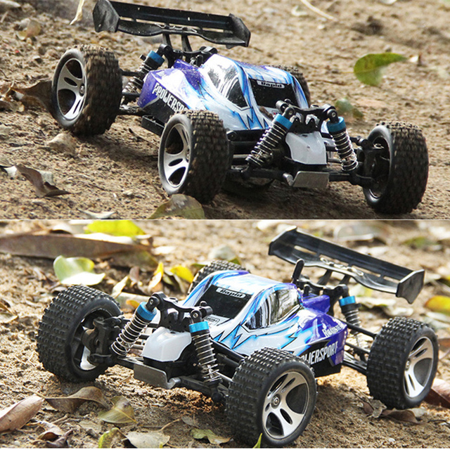 1:18 Scale 2.4G Remote Control Racing Car Model Off road 50KM/H High Speed Stunt SUV Climbing Vehicle Toy Gift