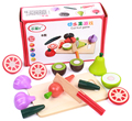 Baby Toys Fruit/Vegetable Pretend Play Wooden Toys Food Sets Educational Kitchen Toys Child Birthday / Christmas Gift