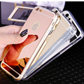 case for iphone 5 / 5S tpu mirror plating luxury fashion 2106 new iphone5 mobile shell soft silicone shell i 5 s