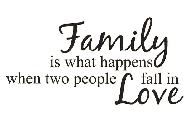 Pvc Wandsticker Familie Liebe Gedichte In Englisch