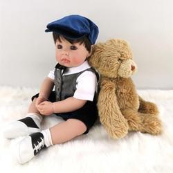 Pursue 20 51 cm prince silicone reborn baby dolls lifelike real vinyl toddler doll for boy.jpg 250x250