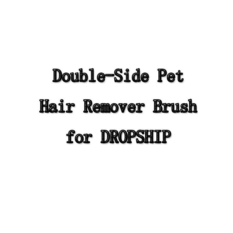 Hund Kamm Werkzeug Pet Haar Entferner Bürste Hund Katze Fell Pinsel Basis Doppel-Seite Home Möbel Sofa Kleidung Reinigung lint Pinsel