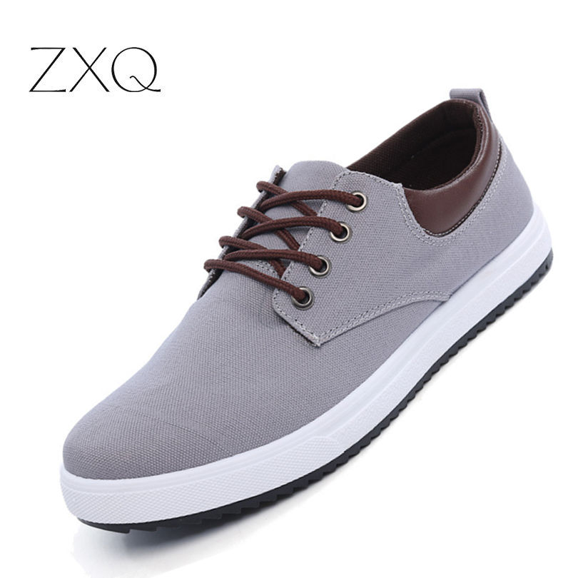 New Arrival Spring Autumn Comfortable Casual Shoes Mens Canvas Shoes For Men Lace-Up Brand Fashion Flat Sneakers Shoe цена
