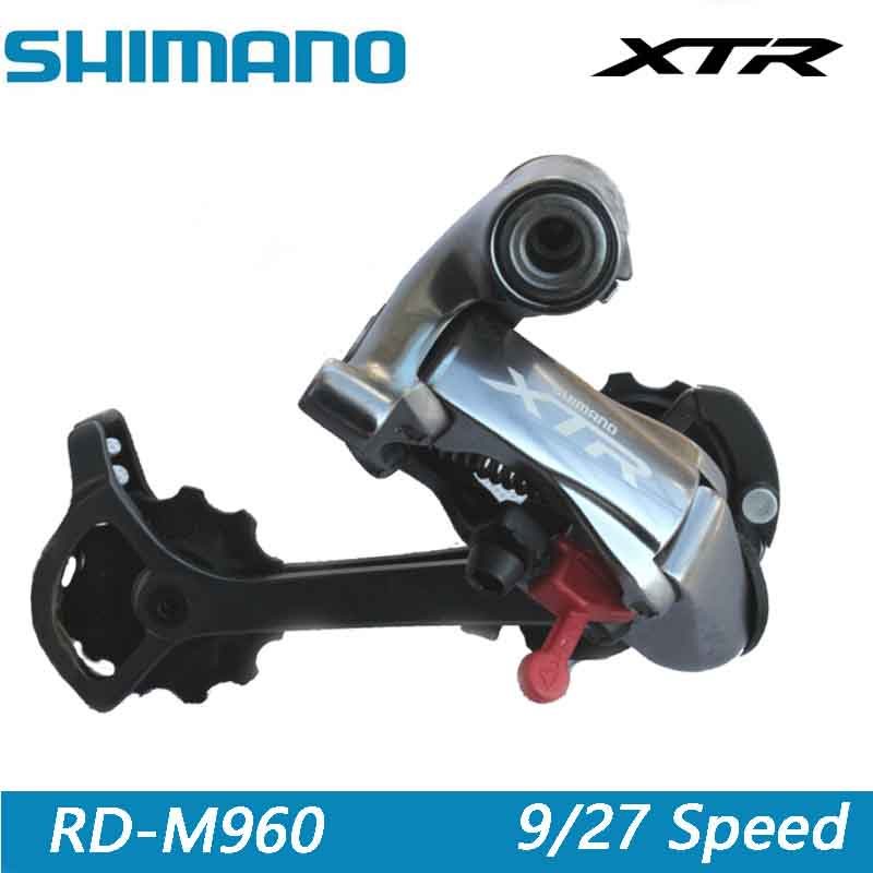 SHIMANO XTR Rare vtt Transmission de VTT dérailleur arrière manette de vitesse pièces de vélo accessoires de vélo RD-M960 9/27 vitesse